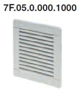 Kilépő szűrő a 7F.50.x.xxx.1020 típusú ventilátorokhoz - 7F.05.0.000.1000