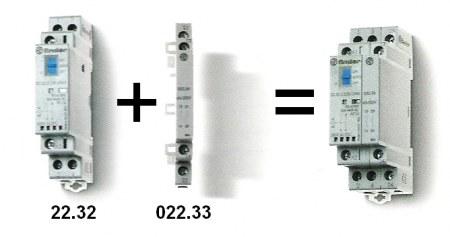 Segédérintkező installációs mágneskapcsolóhoz 2NO