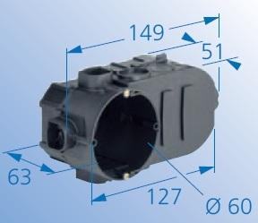 KAISER 1068-02 Elektronikus doboz