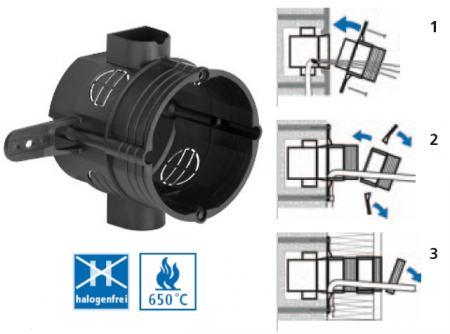 KAISER 1155-02 ISO dobozmagasító