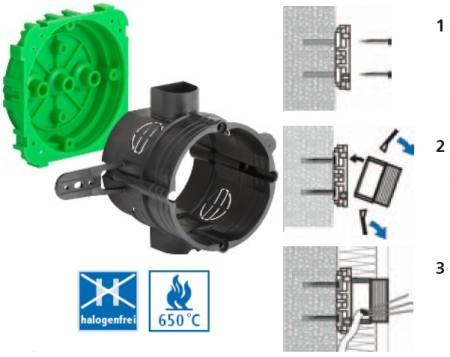 KAISER 1155-03 ISO dobozmagasító készlet