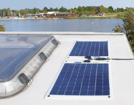 120Wp Flexibilis prémium napelemes készlet hajókhoz, FLEXI-PV gyártmányú