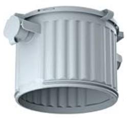 KAISER 1281-00 HaloX-O lámpadoboz