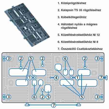 KAISER 2000-00 MONTAX szerelőlap