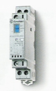 Installációs mágneskapcsoló 25A 2érintkezővel On / Auto / Off kapcsolóval 2NO