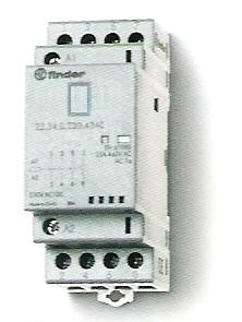 Installációs mágneskapcsoló 25A 4érintkezővel On/Auto/Off kapcsoló NÉLKÜL 4NO