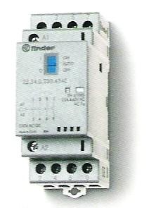 Installációs mágneskapcsoló 25A 4érintkezővel On/Auto/Off kapcsolóval 4NO