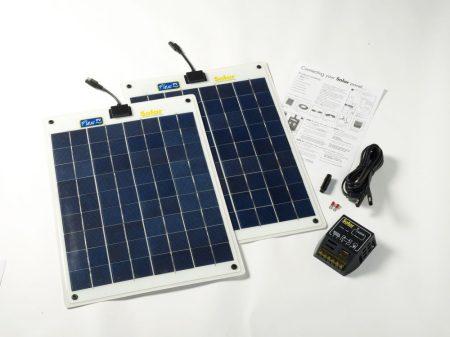 40Wp Flexibilis prémium napelemes készlet hajókhoz, FLEXI-PV gyártmányú