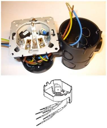 414 / 230M21 Túlfeszültség-védelmi modul