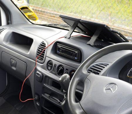 4W-os Napelemes töltő 12V-os autó akkumulátorokhoz, PV-Logic gyártmányú