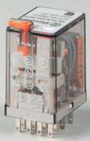 Miniatűr ipari relé 7 A 24 V DC