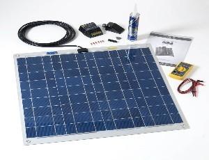 60Wp Flexibilis prémium napelemes készlet hajókhoz, FLEXI-PV gyártmányú