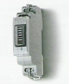 Elektronikus fogyasztásmérő 1 fázis 32A mechanikus számláló