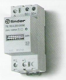 Elektronikus fogyasztásmérő 1 fázis 65A mechanikus számláló