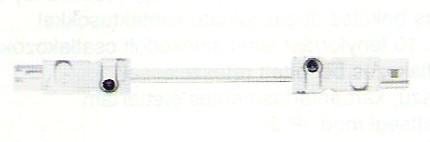 LED-es világításhoz összekötő vezeték csatlakozó hüvellyel és villával