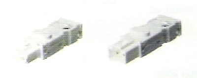 LED-es világításhoz: csatlakozó villák és hüvelyek összekötő vezetékekhez