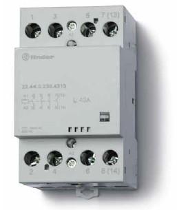 Installációs mágneskapcsoló 40A 4 érintkezővel