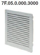 Kilépő szűrő a 7F.50.x.xxx.3100 típusú ventilátorokhoz - 7F.05.0.000.3000