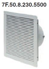 Ventilátor beépített szűrővel 500m3/h  230V AC  7F.50.8.230.5500