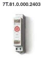 Termosztát fűtés kapcsolására, állítható 1 NC 10A