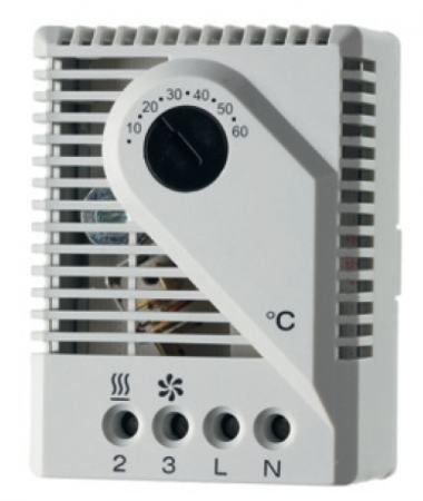 Termosztát fűtés ki- és szellőztetés bekapcsolása, állítható