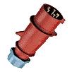 322 Fázisváltós dugvilla 32A 5p 400V