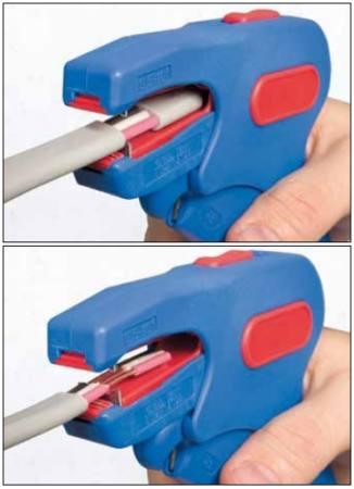 Weicon No.7-F - automata lapos kábel csupaszoló