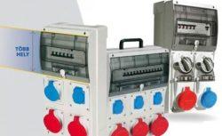 PALAZZOLI Moduláris ipari elosztó kombinációk IP 44-es kivitelben
