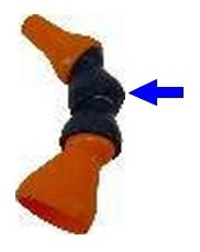 EZ.50 tartozék - csuklóelem 9.5 mm
