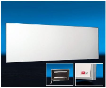 BVF NG-300 Slim infrapanel alu kerettel | 900 x 300 mm | 300W