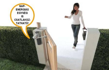 WT1 kompakt kapuautomatika készlet egyszárnyas kapukhoz